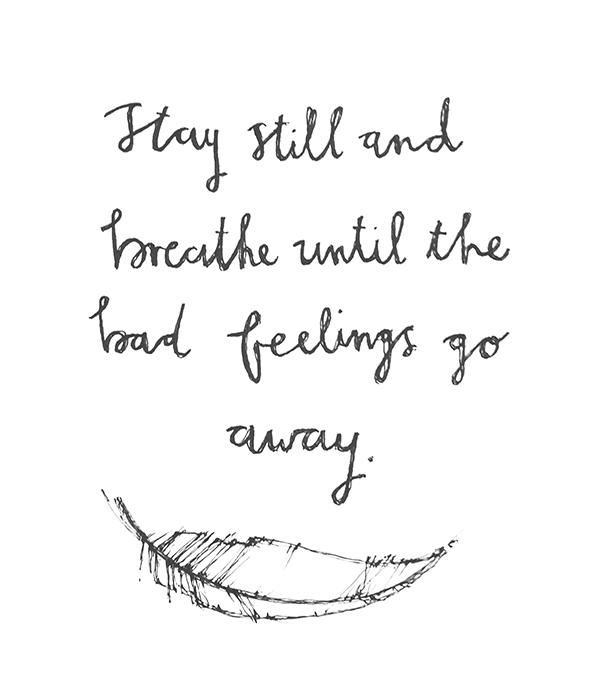 breathe small