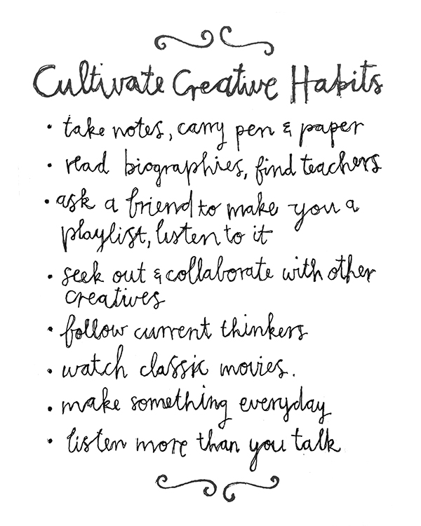 creativehabits